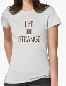 Life Is Strange Logo (2) Womens Fitted T-Shirt