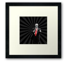 Donald Trump For President 2016 Thumbs Up Framed Print