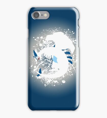 Lugia Splatter iPhone Case/Skin