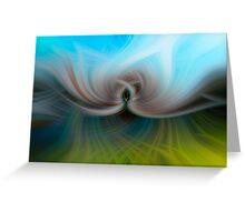 Twirl Greeting Card