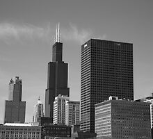 Chicago Skyline by Frank Romeo