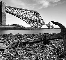 North Queensferry Anchor by Claire Tennant