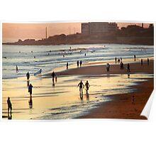 Carcavelos Beach Poster