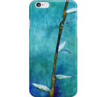 aqua and indigo iPhone Case/Skin