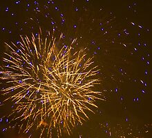Firework Fiesta In Bradford by Sandra Cockayne