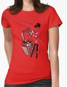 The English Beat T-Shirt Womens Fitted T-Shirt