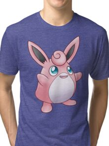 Fairy Rabbit Tri-blend T-Shirt