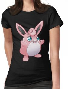 Fairy Rabbit Womens Fitted T-Shirt