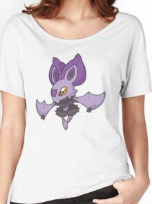Lavender Bat  Women's Relaxed Fit T-Shirt