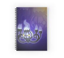 The Purple Chandelier   Spiral Notebook