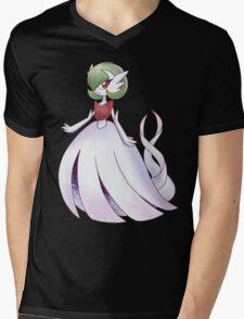 Green Goddess Mens V-Neck T-Shirt