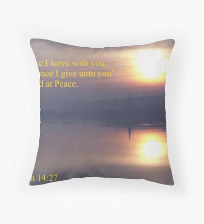 Ireland at Peace Throw Pillow