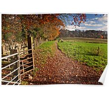 Autumn in the Ribble Valley Poster
