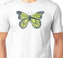 Lime Butterfly Unisex T-Shirt