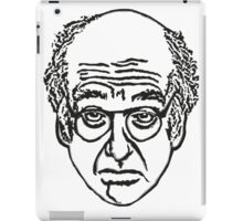 Larry David Face Stationary iPad Case/Skin