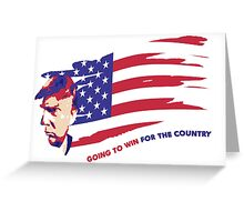 Donald Trump for President Greeting Card
