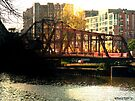 """Swing Bridge"" in the Flats by Marcia Rubin"