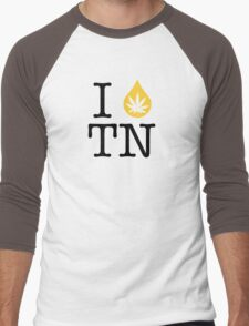 I Dab TN (Tennessee) Weed Men's Baseball ¾ T-Shirt