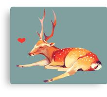 Deer Heart, Canvas Print