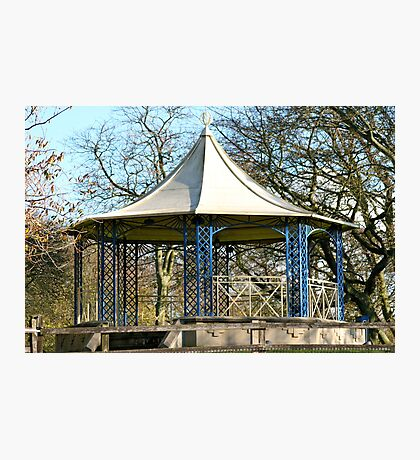 Sewerby Band Stand Photographic Print