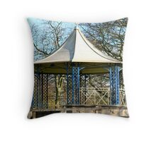 Sewerby Band Stand Throw Pillow