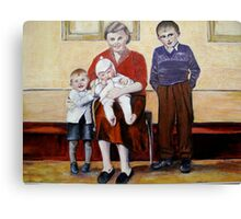 All my children 1957. Canvas Print