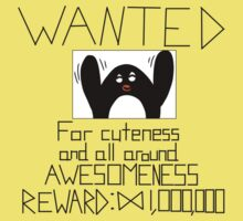 Wanted Penguin Kids Tee