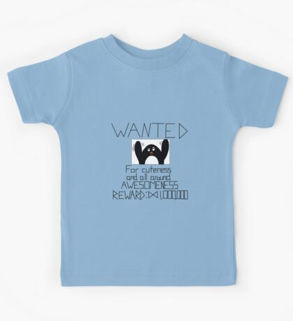 Wanted Penguin Kids Tee