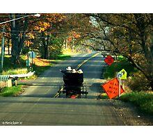 Road Work? Photographic Print