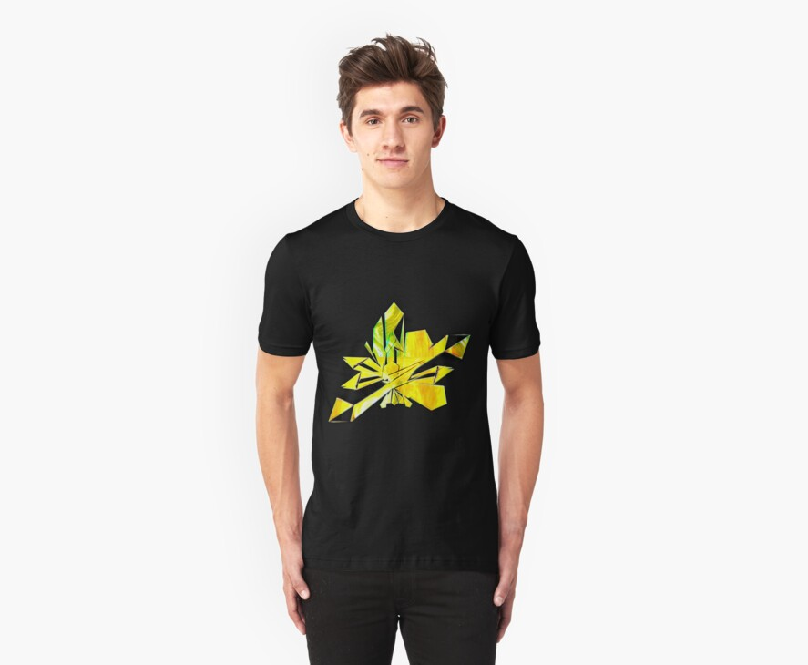 Crystal Light -Citrine Healing  T-shirt by mandyemblow