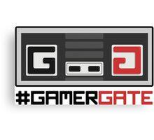#GamerGate NES Controller Logo Canvas Print