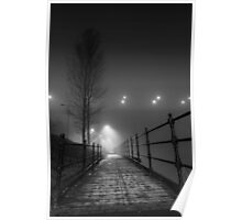 Lonely pathway Poster