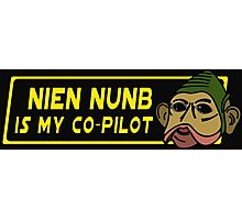 Star Wars - Nien Nunb Is My Co-Pilot Photographic Print