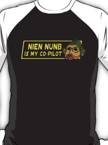 Star Wars - Nien Nunb Is My Co-Pilot T-Shirt