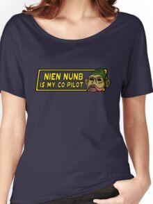 Star Wars - Nien Nunb Is My Co-Pilot Women's Relaxed Fit T-Shirt