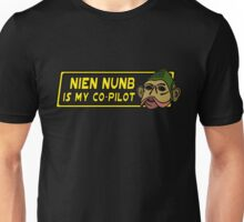Star Wars - Nien Nunb Is My Co-Pilot Unisex T-Shirt