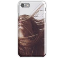 Hair In The Wind iPhone Case/Skin