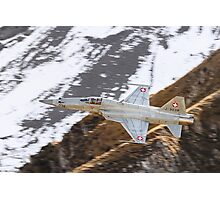 F-5E Tiger - Swiss Air Force  Photographic Print