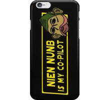 Star Wars - Nien Nunb Is My Co-Pilot iPhone Case/Skin