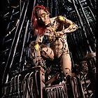 Cyberpunk Painting 063 by Ian Sokoliwski