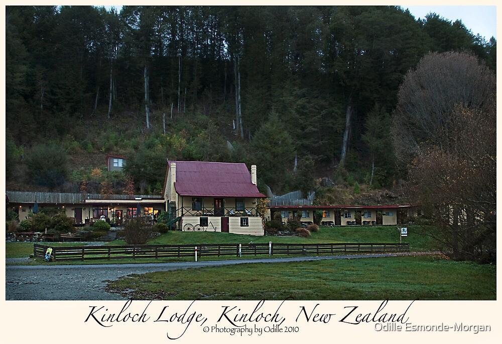 Kinloch Lodge, Kinloch, New Zealand by Odille Esmonde-Morgan