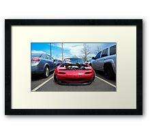 Slammed Miata II Framed Print