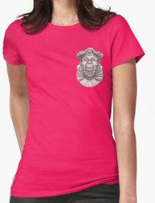 See No Evil, Hear No Evil, Speak No Evil. Womens Fitted T-Shirt