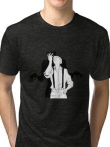 Satou&IBM Tri-blend T-Shirt