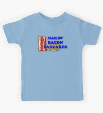 Adventure Time-Makin' Bacon Pancakes Kids Tee