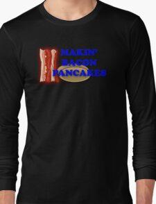 Adventure Time-Makin' Bacon Pancakes Long Sleeve T-Shirt