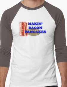 Adventure Time-Makin' Bacon Pancakes Men's Baseball ¾ T-Shirt