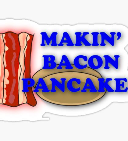Adventure Time-Makin' Bacon Pancakes Sticker