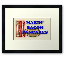 Adventure Time-Makin' Bacon Pancakes Framed Print