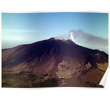 The slopes of Etna Poster